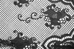 Σύσταση, σχέδιο Το ύφασμα δαντελλών είναι γκρίζο, γραπτός άθλος Στοκ εικόνες με δικαίωμα ελεύθερης χρήσης
