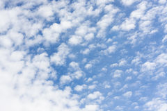 Σύσταση σύννεφων Spindrift Στοκ Εικόνες