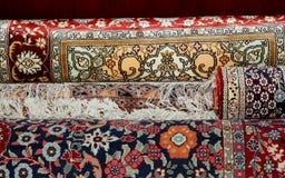 Σύσταση ταπήτων Ehtnic, Αμμάν, Ιορδανία Στοκ Εικόνες