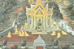 σύσταση Ταϊλανδός τέχνης Στοκ εικόνες με δικαίωμα ελεύθερης χρήσης