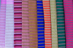 σύσταση Ταϊλανδός υφασμάτων Στοκ Φωτογραφία