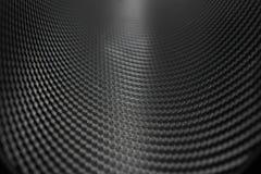 Σύσταση της αυτοκόλλητης ετικέττας ινών άνθρακα Στοκ Εικόνα