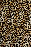 Σύσταση της λεοπάρδαλης λωρίδων υφάσματος τυπωμένων υλών για το υπόβαθρο Στοκ Εικόνα