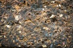 Σύσταση της λεπτομέρειας πετρών στοκ εικόνα