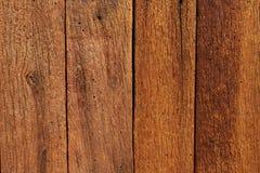 Σύσταση της καφετιάς ξύλινης σανίδας Στοκ Εικόνες