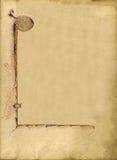 Σύσταση της παλαιάς σελίδας βιβλίων Στοκ εικόνα με δικαίωμα ελεύθερης χρήσης