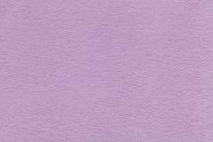 Σύσταση της παλαιάς ανοικτό βιολετί κινηματογράφησης σε πρώτο πλάνο εγγράφου Δομή ενός πυκνού χαρτονιού Το lavender υπόβαθρο Στοκ Φωτογραφίες