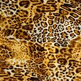 Σύσταση της ριγωτής λεοπάρδαλης υφάσματος τυπωμένων υλών Στοκ φωτογραφίες με δικαίωμα ελεύθερης χρήσης