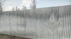 Σύσταση τοίχων χάλυβα Στοκ φωτογραφία με δικαίωμα ελεύθερης χρήσης
