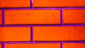 Σύσταση τουβλότοιχος χρώματος ως αστικό υπόβαθρο Στοκ εικόνα με δικαίωμα ελεύθερης χρήσης