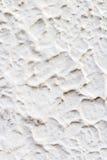 Σύσταση του άσπρου τοίχου τσιμέντου Στοκ φωτογραφία με δικαίωμα ελεύθερης χρήσης