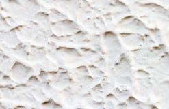 Σύσταση του άσπρου τοίχου τσιμέντου Στοκ Εικόνα