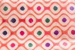 Σύσταση του δέρματος με μια φωτεινή διακόσμηση Στοκ εικόνες με δικαίωμα ελεύθερης χρήσης