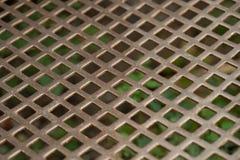 Σύσταση του ανοξείδωτου, διατρυπημένο μέταλλο φύλλων Στοκ εικόνα με δικαίωμα ελεύθερης χρήσης