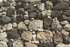 Σύσταση του αρχαίου τοίχου πετρών. στοκ εικόνα με δικαίωμα ελεύθερης χρήσης