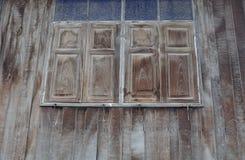 Σύσταση του ασιατικού παλαιού ξύλινου σπιτιού ύφους Στοκ Εικόνες
