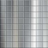 Σύσταση του βουρτσισμένου μετάλλου με ένα γεωμετρικό σχέδιο Στοκ εικόνες με δικαίωμα ελεύθερης χρήσης
