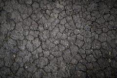 Σύσταση του εδάφους από η ξηρασία που στεγνώνει, το υπόβαθρο επίγειων ρωγμών με το grunge στοκ εικόνα