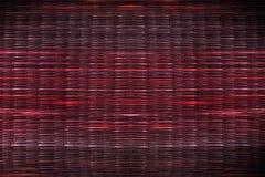 Σύσταση του κόκκινου υποβάθρου χαλιών καλάμων Στοκ Φωτογραφίες