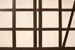Σύσταση του μισό-εφοδιασμένου με ξύλα κτηρίου στοκ εικόνα με δικαίωμα ελεύθερης χρήσης