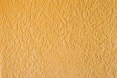 Μπεζ κίτρινος ταπετσαριών σύστασης Στοκ Εικόνα