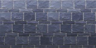 Σύσταση του μπλε ναυτικού grunge brickwall τρισδιάστατος δώστε στοκ φωτογραφία