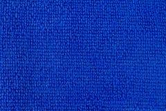 Σύσταση του μπλε ξηρού υφάσματος ινών μικροϋπολογιστών στοκ φωτογραφία με δικαίωμα ελεύθερης χρήσης