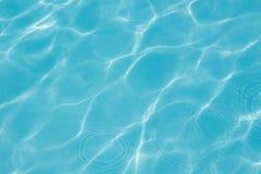 Σύσταση του νερού στην πισίνα Στοκ Εικόνα
