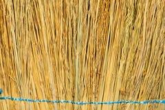 Σύσταση του ξηρού υποβάθρου αχύρου στοκ εικόνες