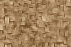 Σύσταση του ξύλινου καλαθιού μίσχων ή μπαμπού στην Ασία ελεύθερη απεικόνιση δικαιώματος