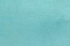 Σύσταση του παλαιού τυρκουάζ χρώματος χρωμάτων Στοκ Εικόνες