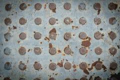 Σύσταση του παλαιού χάλυβα Στοκ Φωτογραφία