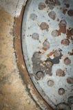 Σύσταση του παλαιού χάλυβα Στοκ φωτογραφία με δικαίωμα ελεύθερης χρήσης