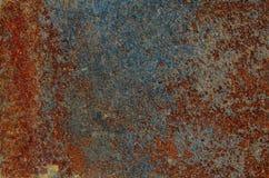 Σύσταση του παλαιού και σκουριασμένου μετάλλου Στοκ Φωτογραφία
