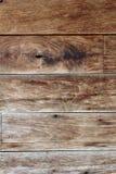 Σύσταση του παλαιού ξύλινου gnarl τοίχων καφετιού χρώματος Στοκ Εικόνα