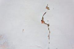 Σύσταση του παλαιού ραγισμένου τοίχου ασβεστοκονιάματος Στοκ φωτογραφία με δικαίωμα ελεύθερης χρήσης