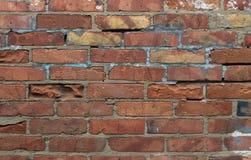 Σύσταση του παλαιού υποβάθρου τούβλων στοκ φωτογραφία