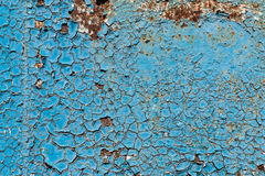 Σύσταση του ραγισμένου χρώματος Στοκ Εικόνα