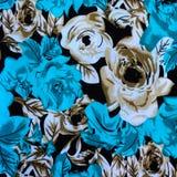 Σύσταση του ριγωτού λουλουδιού υφάσματος τυπωμένων υλών για το backgroun Στοκ φωτογραφίες με δικαίωμα ελεύθερης χρήσης