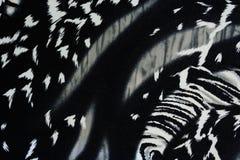 Σύσταση του ριγωτού πάνθηρα υφάσματος τυπωμένων υλών για το υπόβαθρο Στοκ φωτογραφία με δικαίωμα ελεύθερης χρήσης