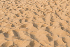 Σύσταση του σχεδίου άμμου σε μια παραλία το καλοκαίρι σε Phuket, ταϊλανδικά Στοκ Εικόνα