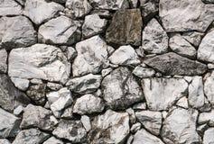 Σύσταση του τοίχου πετρών Στοκ Εικόνες