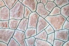 Σύσταση του φυσικού τοίχου πετρών Στοκ φωτογραφία με δικαίωμα ελεύθερης χρήσης