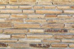 Σύσταση του φυσικού τοίχου ψαμμίτη Στοκ Φωτογραφία
