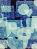 Σύσταση του χαρτί-αναδρομικού ύφους. κολάζ. Στοκ εικόνες με δικαίωμα ελεύθερης χρήσης