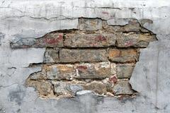 σύσταση τούβλου grunge Στοκ Φωτογραφία
