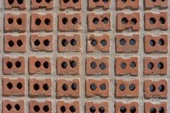 Σύσταση τούβλου, σχέδια τούβλου Στοκ Εικόνες