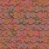Σύσταση τούβλων αργίλου άνευ ραφής Στοκ Εικόνα