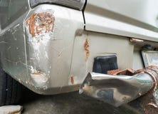 Σύσταση τροχαίου στο φορτηγό ή το αυτοκίνητο Στοκ φωτογραφίες με δικαίωμα ελεύθερης χρήσης