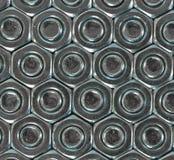 Σύσταση των καρυδιών - και - μπουλόνια Στοκ εικόνα με δικαίωμα ελεύθερης χρήσης